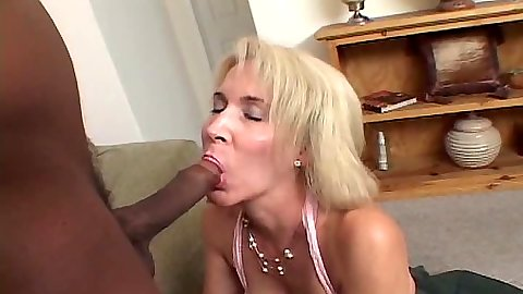 Mature interacial blowjob with skank granny Erica Lauren