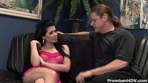 Lingerie latina Rebeca Linares is a stripper that can do more