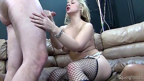 Casey Stone and Tory Lane with Sarah Vandella sucking and deep throat with facial cumshot