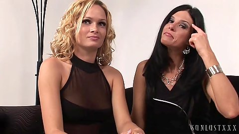 Interview softcore with rockstar queens Prinzzess and India Summer