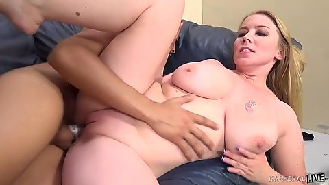 Sideways stuffing mad whore Desire Deluca