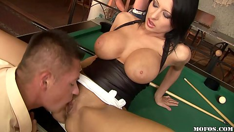 Some beautiful euro skanks join us for a game of cock pool