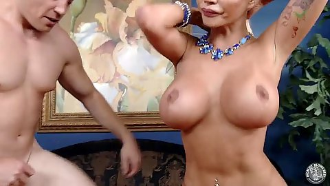 Stepmom cheating scene with huge tits milf Nikita Von James