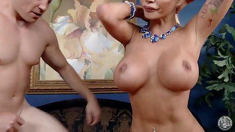 Stepmom cheating scene with huge tits milf Nikita Von James