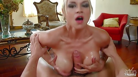 Big boobs pov titty fuck from raunchy Sarah Vandella