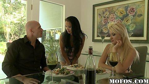 Mya is Johnys new house maid who is jealous