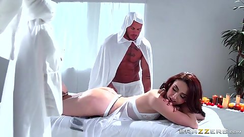 Fantastic fetish cult with Mandy Muse going to the dungeon