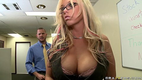 Big tits office slut is her bosses favourite toy