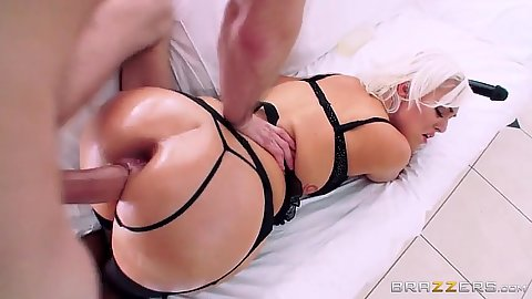 Raunchy pussy sex with already gaped anus after pussy to ass and ass to mouth Jenna Ivory