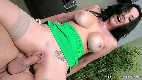 Reverse cowgirl milf office pusys sex with Jayden Jaymes