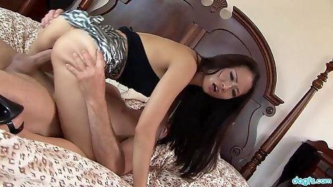 Sexy asian petite girl on dick riding Nyomi Zen