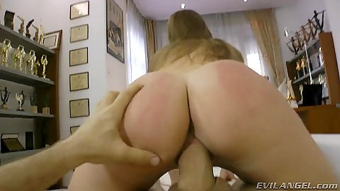 Reerse cowgirl pornstar fuck from nice ass Daisy D