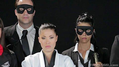 Committed asian milf London Keyes adn Dana DeArmond and Dana Vespoli