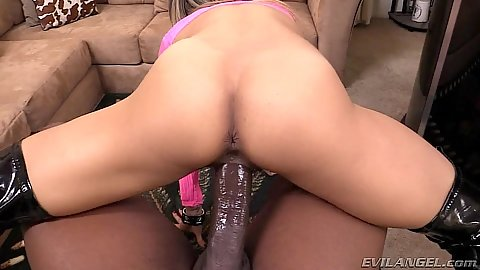 Big dick pov reverse cowgirl fuck with latina girl Nadia Styles and black shaft
