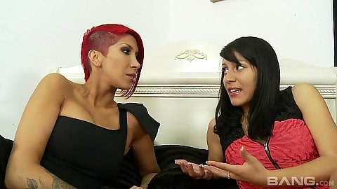 Sex toy latina and her friend also do suck Liv Aguilera and Kayla Carrera