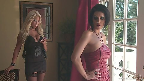 Dylan Ryder and Bridgette B threesome milf getting naughty