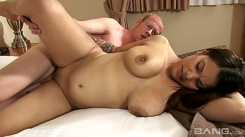 Natural breats amateur latina Jan Selena making her sex tape