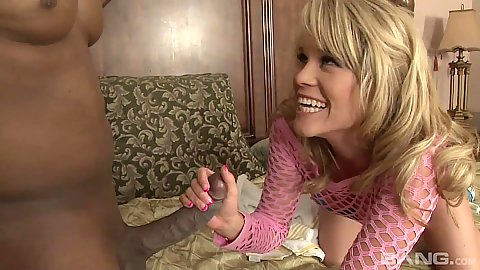 Smiling Aiden Aspen in her step dad blowjob