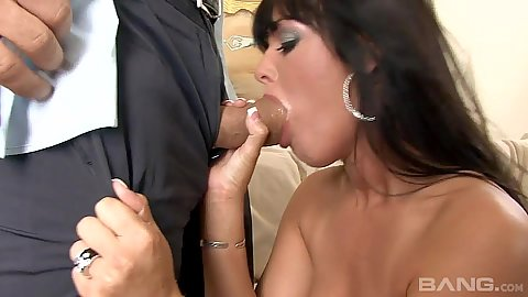 Blowjob with appealing Sadie West