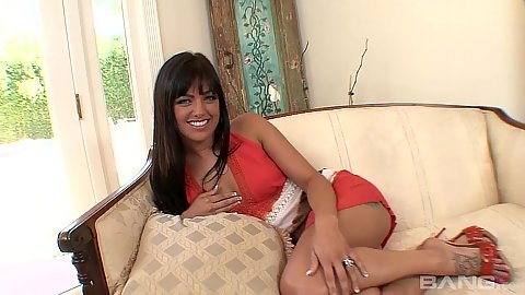Vixen solo Sadie West shows feet with pedicure