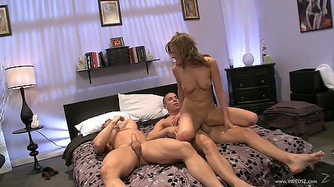 Husband and wife invite another dick to please wife Victoria Lawson