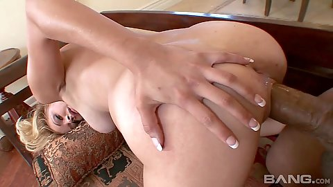 Rear entry big dick black cock white girl fuck from Daphne Flor
