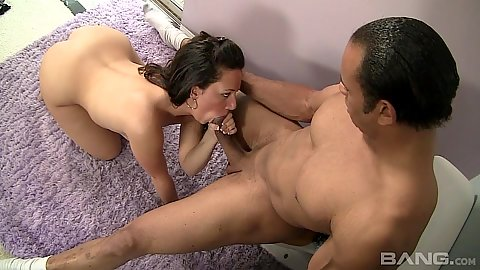 Brunette blowjob whore Cami Smalls