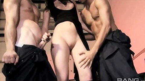 Great latina slut sucks dick and gets it from behind Isabella Leay