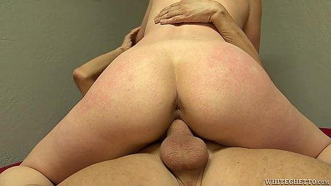 Intimate sitting on penis vagina fuck with Skylar Madison