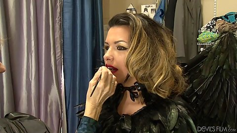 Make up room behind the scenes video wtih Danica Dillon
