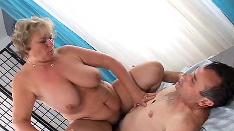 Large melons mature Evita is nursing home horny