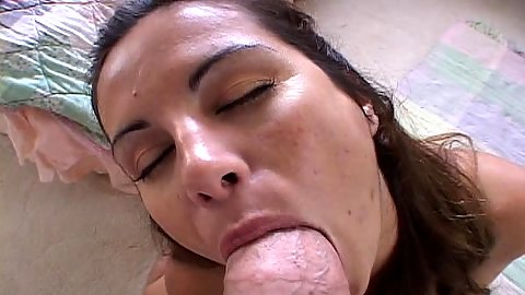 Pov big dick nice milf blowjob with lovely smiling one