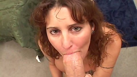 Big dick pov sucking and jerking shaft at the same time