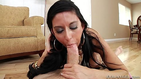 Amazing pov blowjob with sucking milf Nikki Daniels