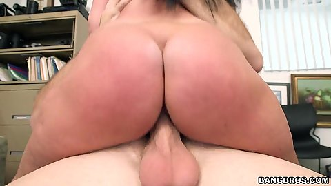Sitting on dick first time casting with landing strip pussy Brittany Shae