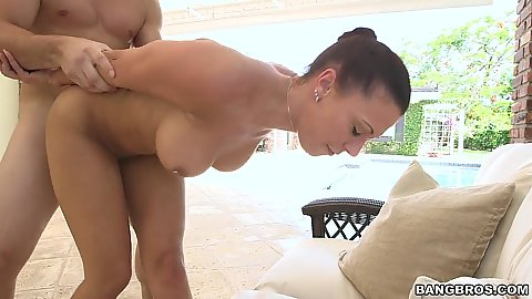 On fire standing fuck with great booty Rachel Starr