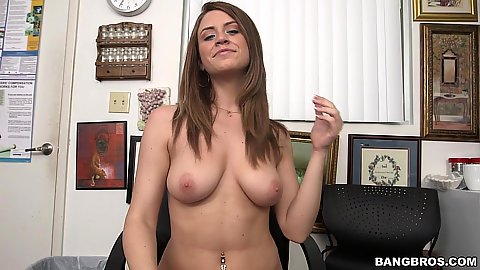 First time audition video from college Delilah Blue giving great head to start off with