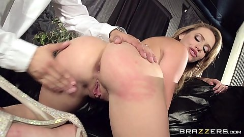 Ass fingering and worship from cock blowjob Mia Malkova
