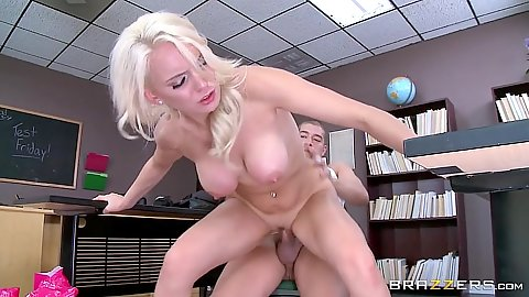 Nasty classroom fuck with Kenzie Taylor