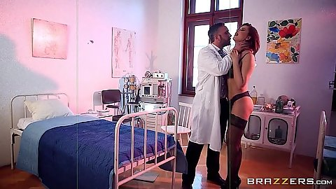 Tasty patient Anna Polina gets used by doctor
