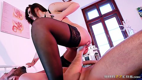 Night nurse Anna Polina is eager to please the doctor on duty