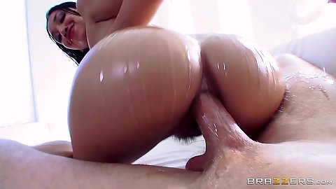 Anal pumping great oil ass Vicki Chase and ass to mouth