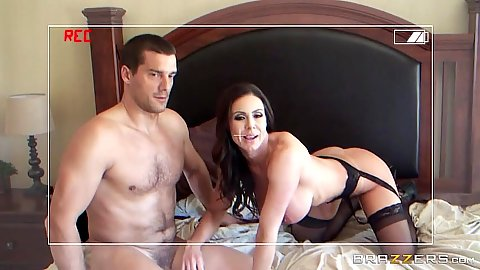 Daring busty Kendra Lust on handicam sex