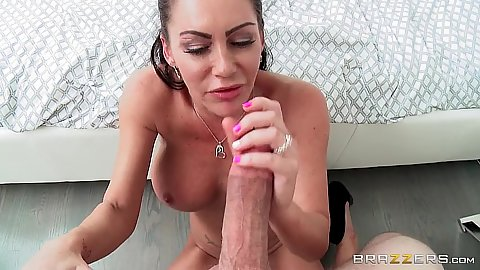 Delicious milf pov big dick sucking and licking Dayton Rains