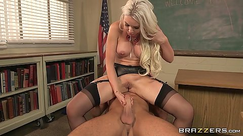 Teacher revenge action and fuck with stockings Gigi Allens in class
