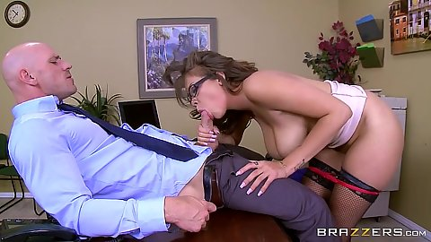 Interview secretary fuck with black Cassidy Banks