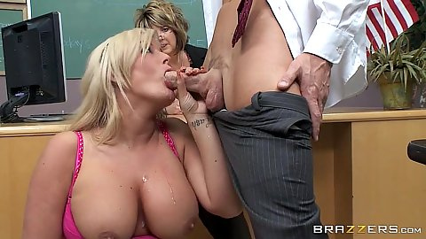 Discipline fuck with busty blonde Julie Cash