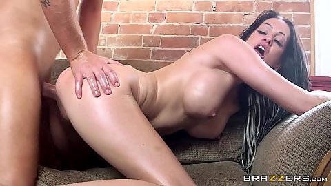 Kelly Summer loving her angelic doggy pumping on ouch