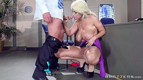 Big tits milf latina Bridgette B standing fuck with cirminal