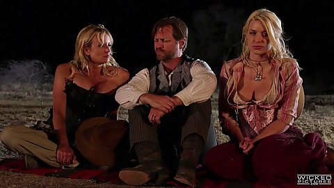 Western story with indians Mia Li and Amber Rayne